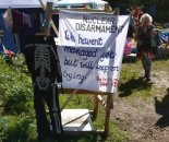 Coulport Disarmament Camp. Scotland July 2017. Kuva: Nelli
